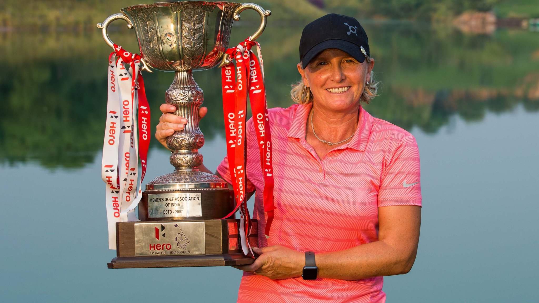 Becky Morgan: Welsh golfer delighted to end 18-year trophy drought