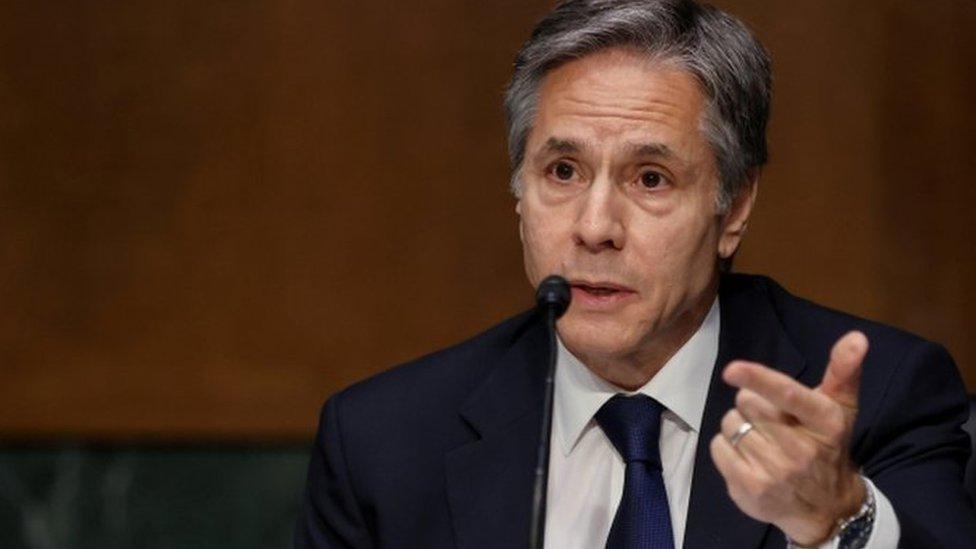 ABD Dışişleri Bakanı Anthony Blinken, Senato'da Türkiye ile ilgili açıklamalarda bulundu. Senato Dış İlişkiler Komisyonu Başkanı Bob Menendez'in sorusu üzerine Blinken,