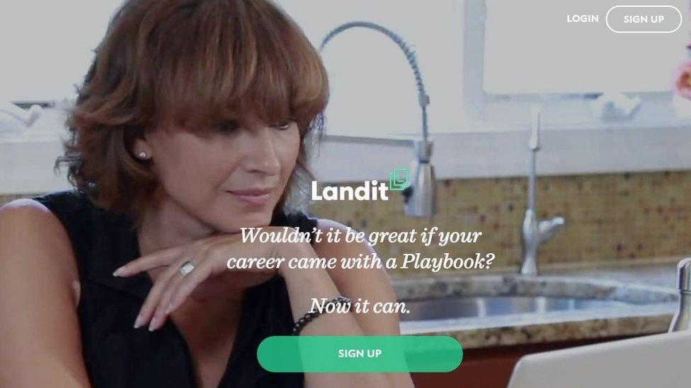 Landit website