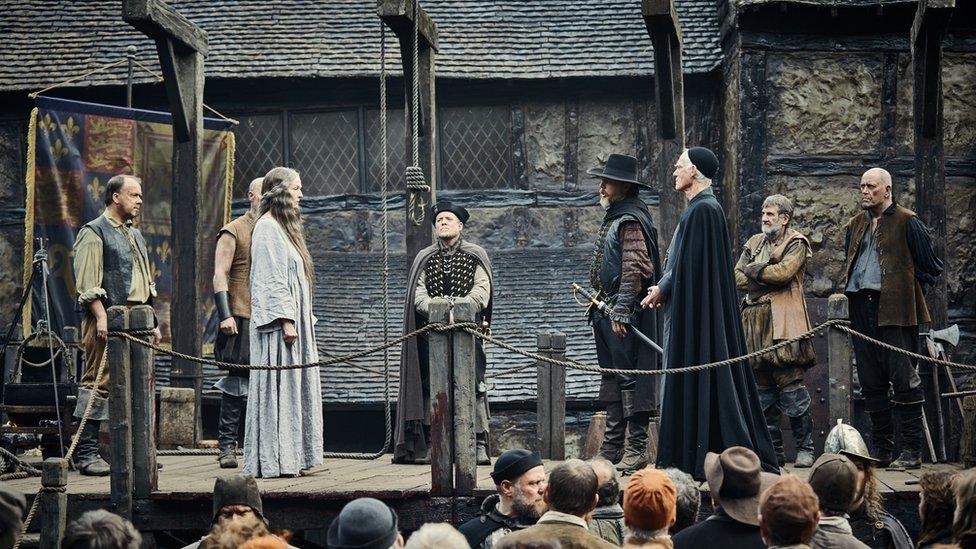 A scene from Gunpowder