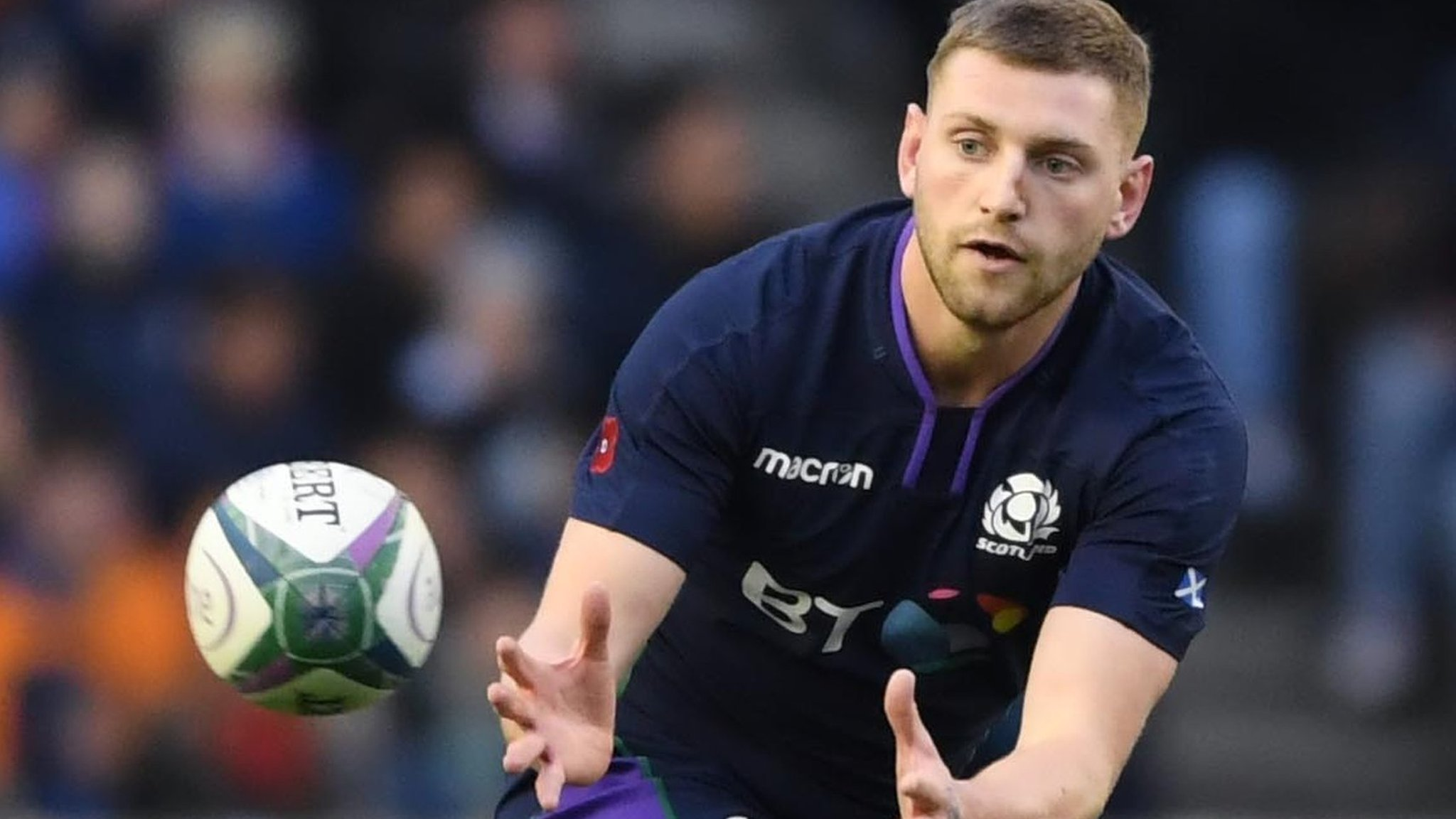 Hastings not 'the enemy' in Scotland fly-half rivalry - Russell