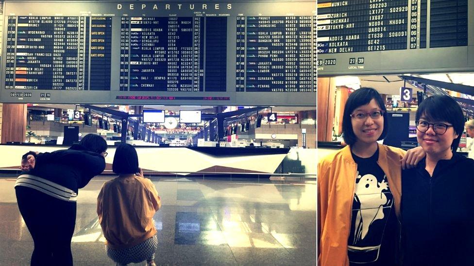 Eileen Lim y Nicole Lee