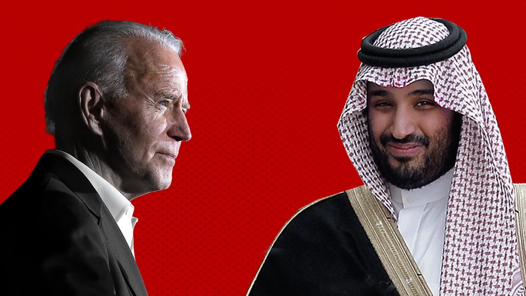 """محمد بن سلمان: البيت الأبيض يقول إن """"نظير"""" بايدن هو الملك وليس ولي العهد"""