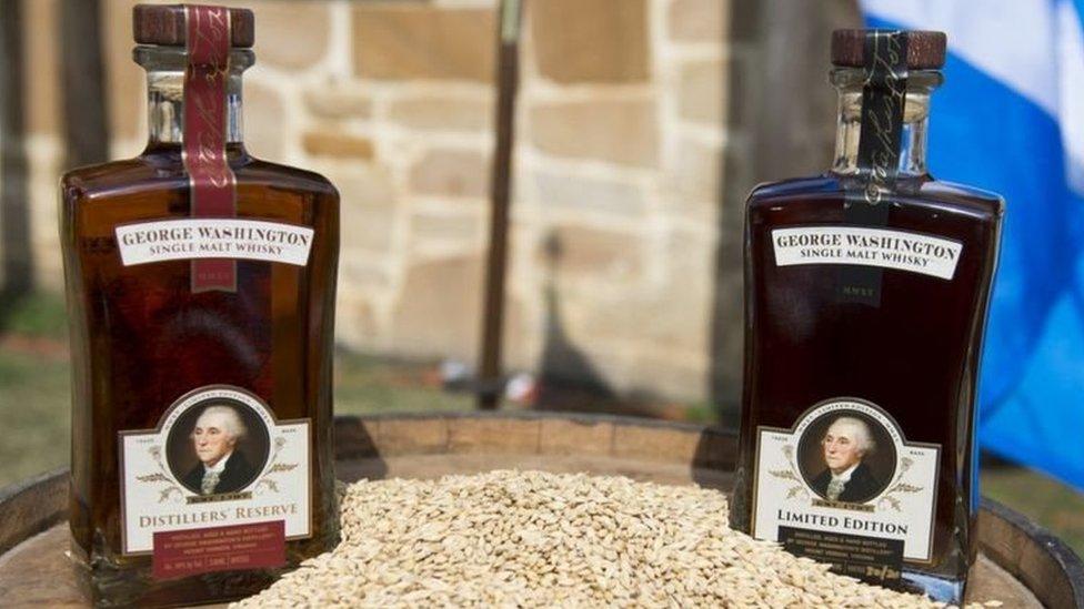 華盛頓家的威士忌酒作坊現在還在運作