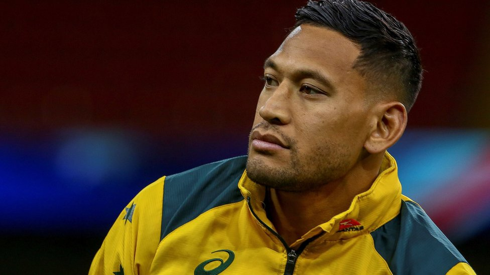 Israel Folau: Rugby star recoups donations in sacking row