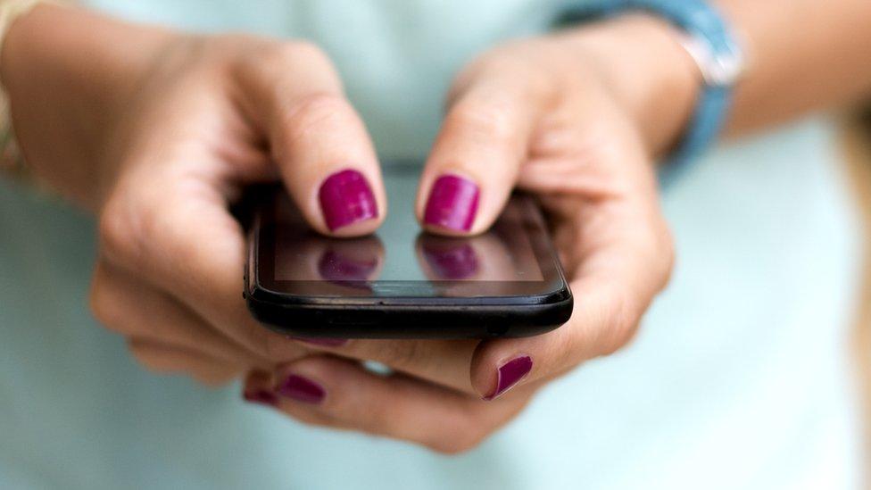 escribir en el celular