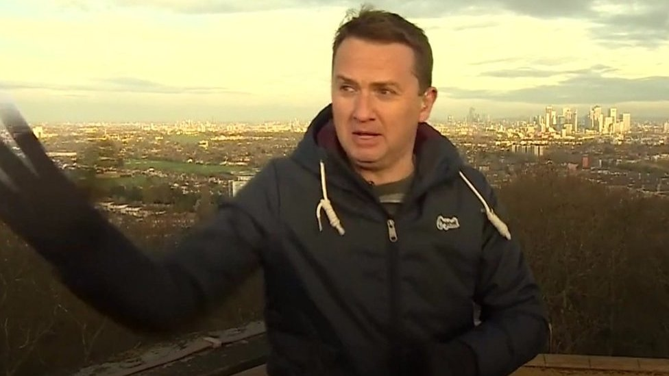 BBC Breakfast presenter Matt Taylor in on air mishap