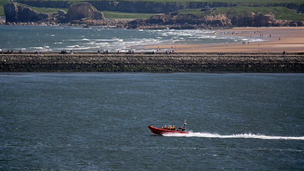 Teenagers rescued after being swept out to sea in South Shields