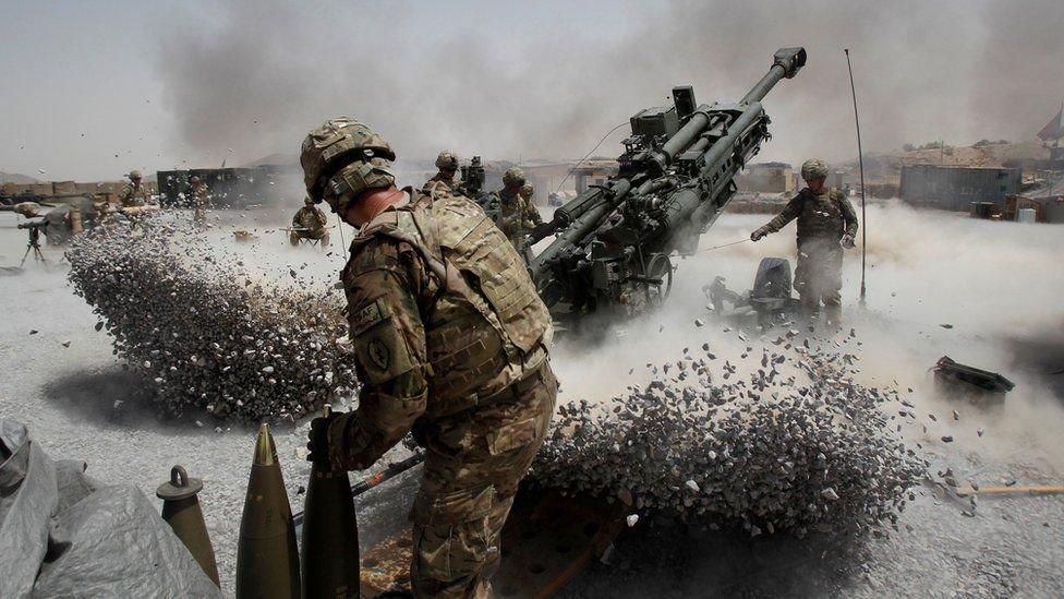 美軍在阿富汗