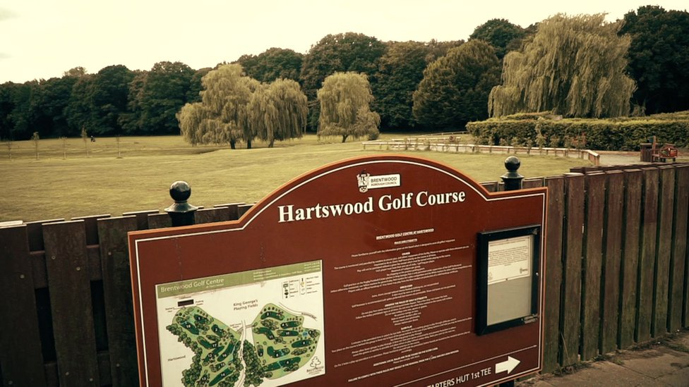 Hartswood golf course