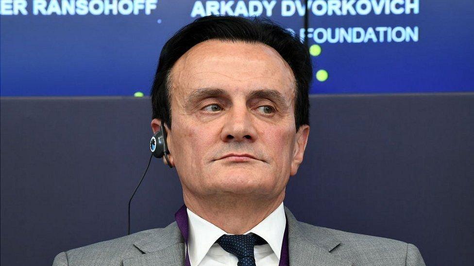رئيس أسترازينكا