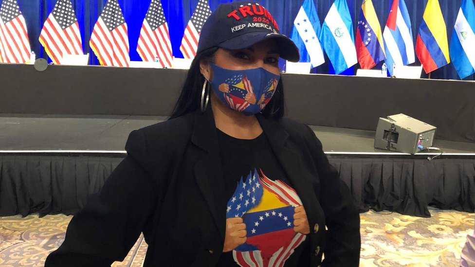 Venezuelan actress Lilibeth Morillo sees Trump as a barrier to the spread of communism