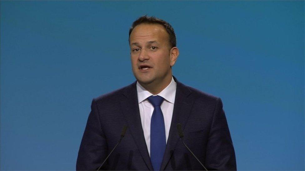 Leo Varadkar: 'Irish government wants to build bridges'