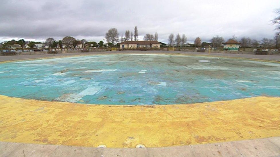 Hamworthy Park paddling pool