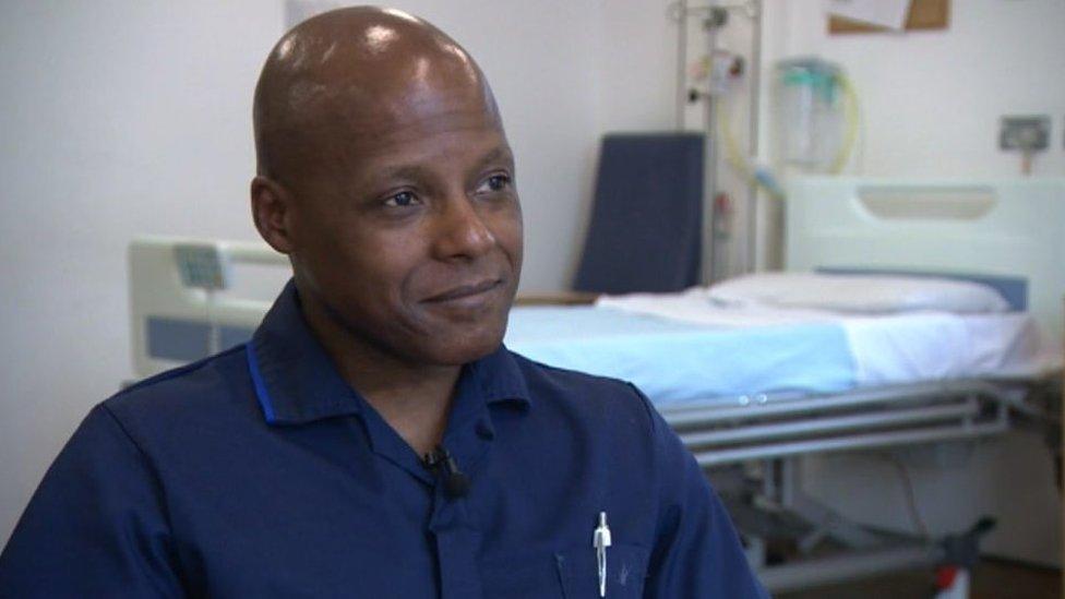 'Huge talent pool' of male nurses missed in Wales