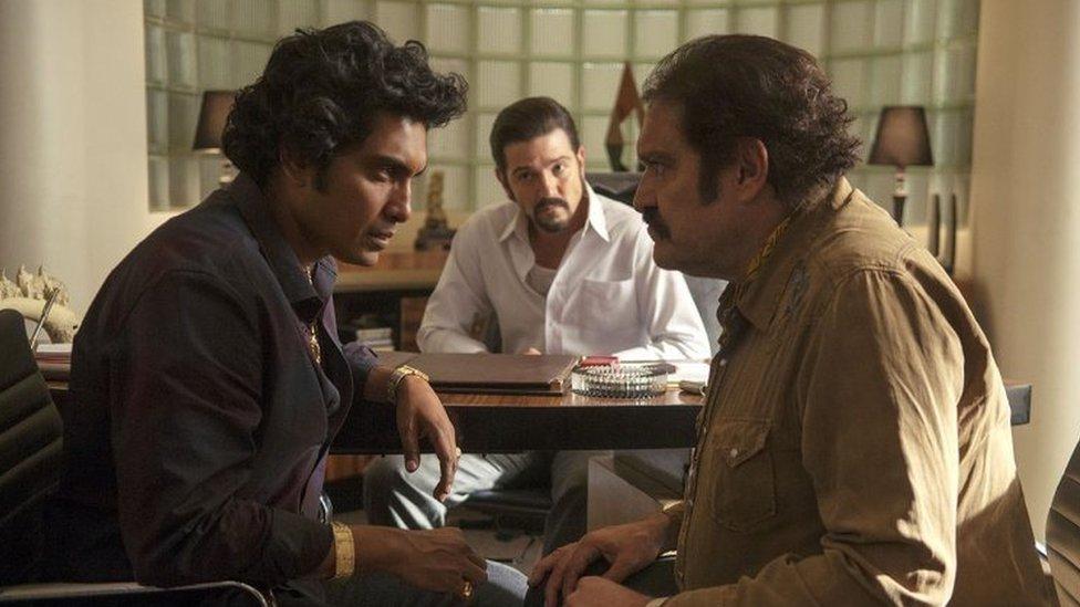 Scena iz serija Narkos: Meksiko