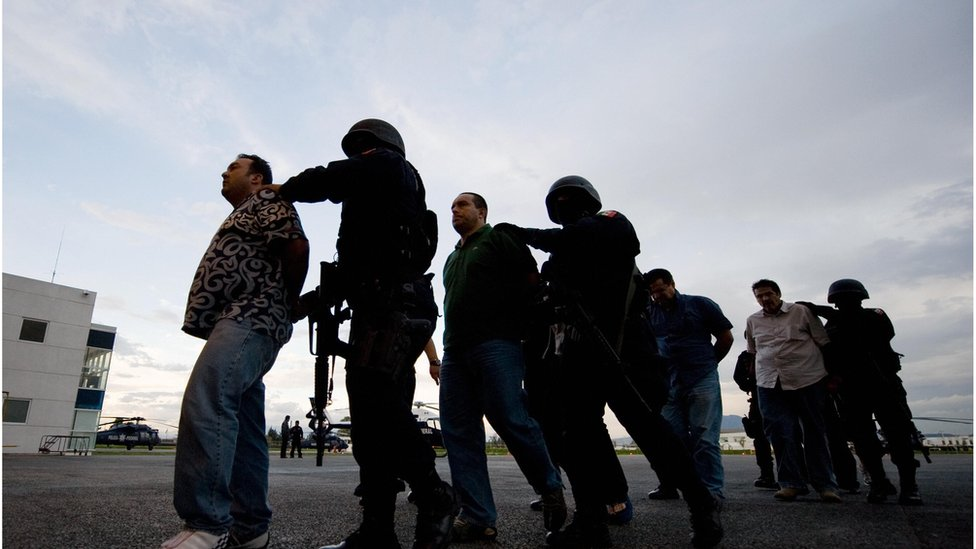Guerra contra las drogas México