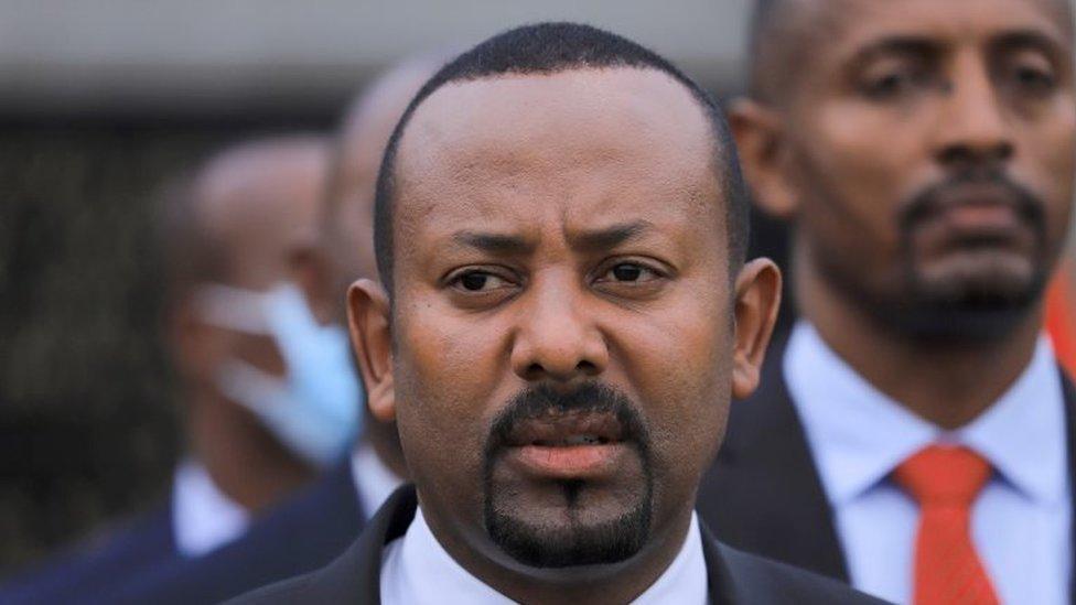 الرئيس الإثيوبي أبي أحمد