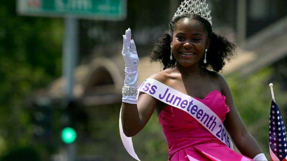 Juneteenth se ha celebrado en Estados Unidos durante 150 años pero no es una fiesta nacional.