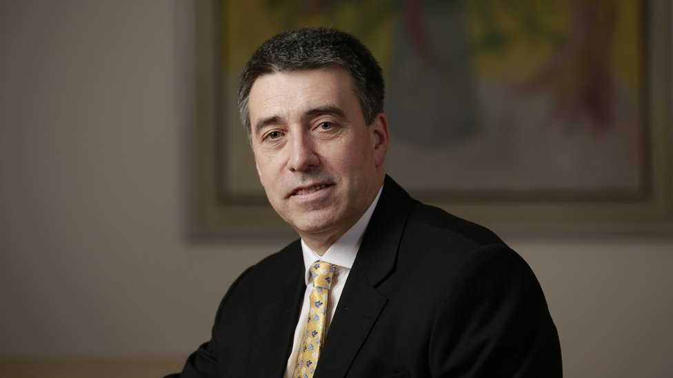 Nathan Bostock, pictured here in 2012, is now head of Santander