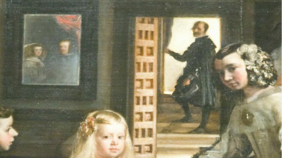 Detalhe do quadro 'As Meninas'