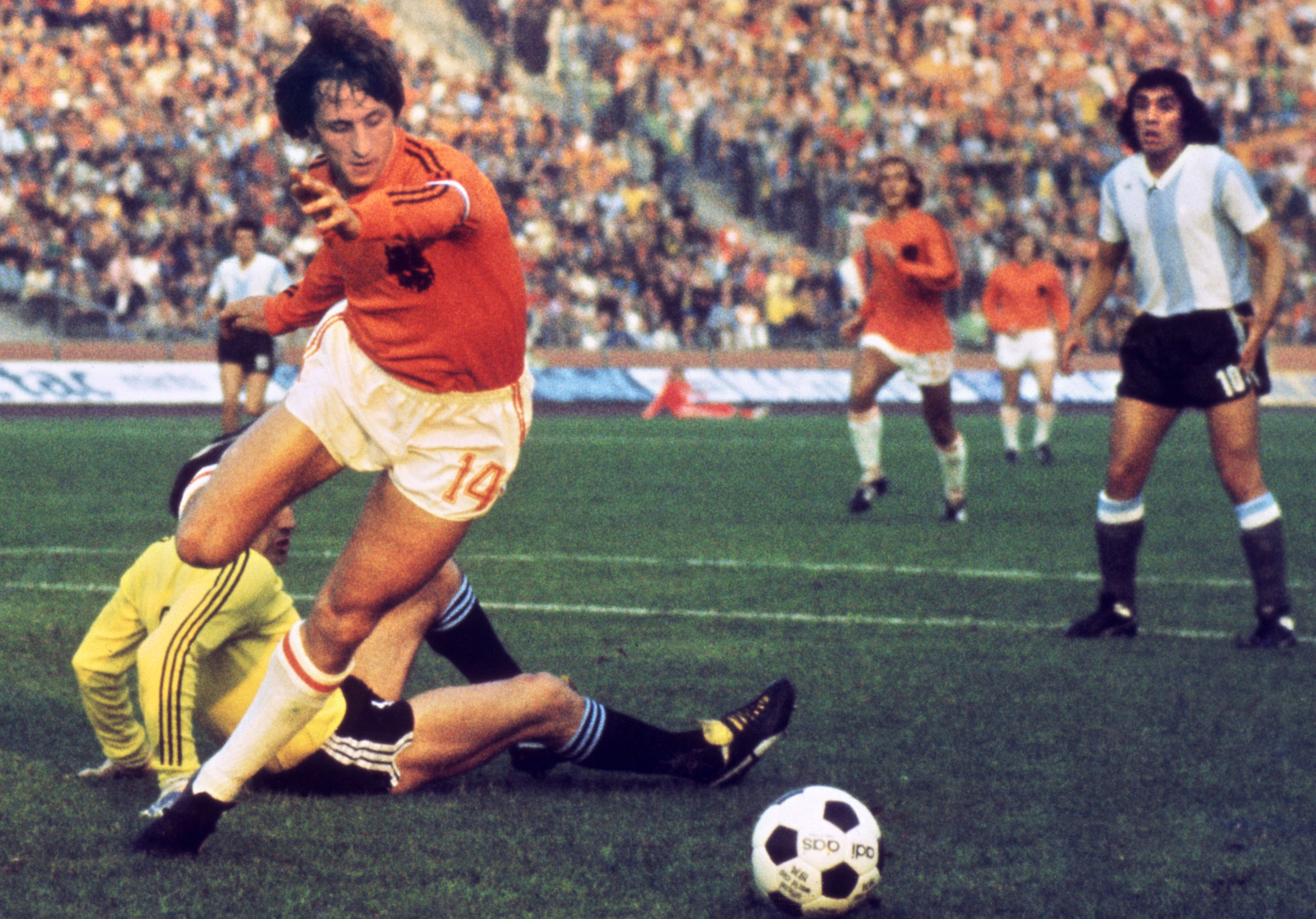 """Cruyff fue el líder de la """"Naranja Mecánica"""""""