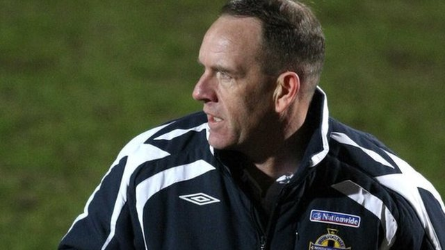 Kenny Shiels was manager of the Northern Ireland U17 team