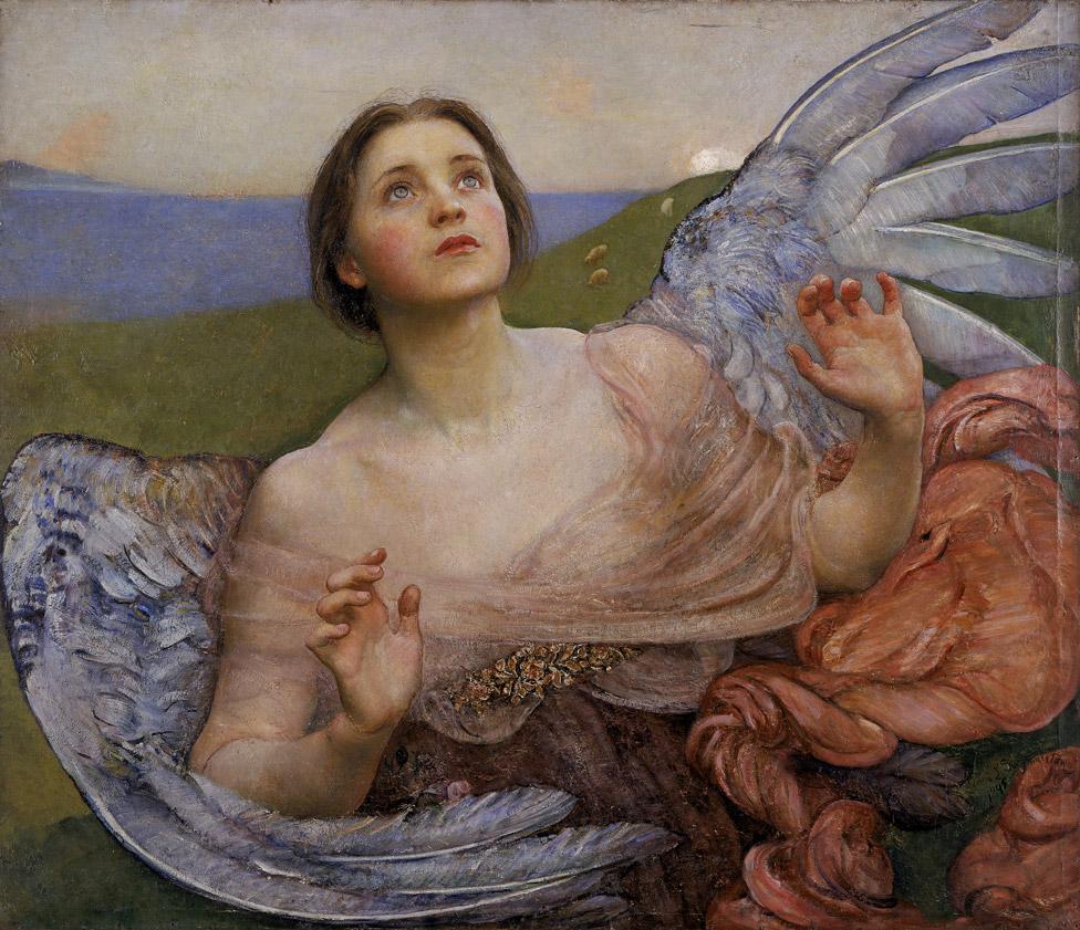 The Sense of Sight by Annie Swynnerton (1895)