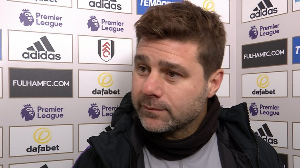 Fulham 1-2 Tottenham: Mauricio Pochettino on Harry Winks' 'unbelievable' late winner