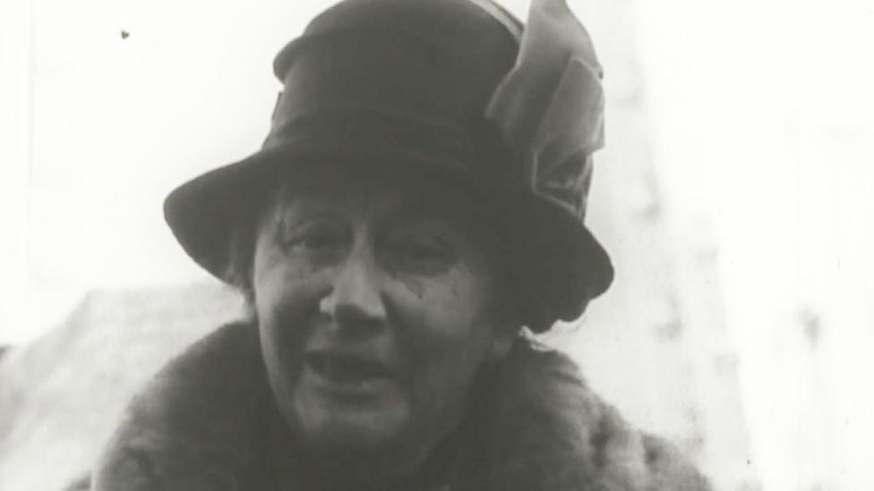 Alice Liddell, de 80 años.