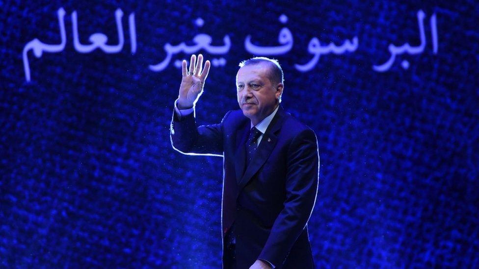 "President Erdogan: ""We will teach them international diplomacy"""