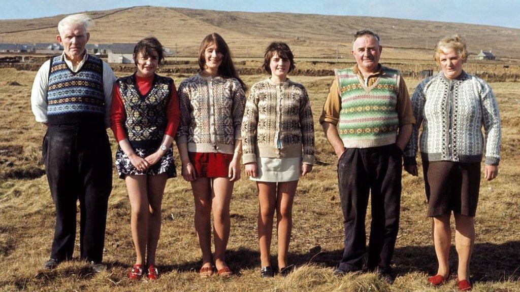 Porodica na ostrvu, jun 1970.