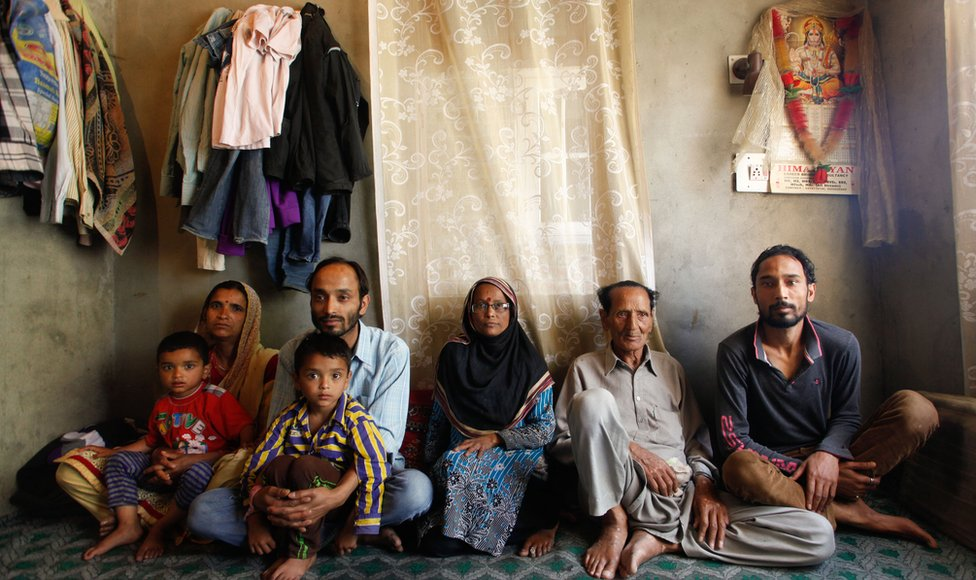 Kashmir pandit family that has stayed on