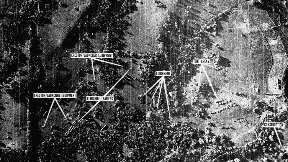 Instalaciones militares soviéticas en Cuba.