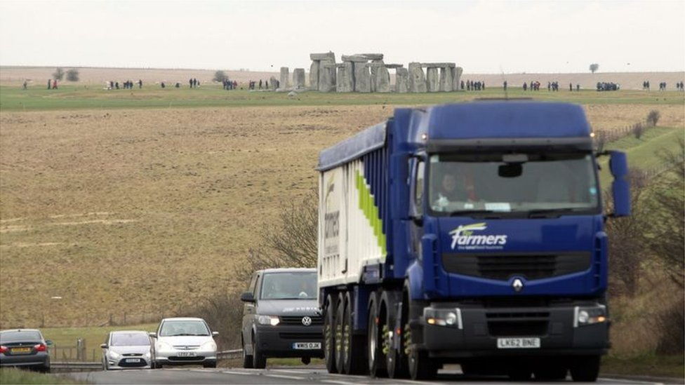 Stonehenge A303 tunnel plan