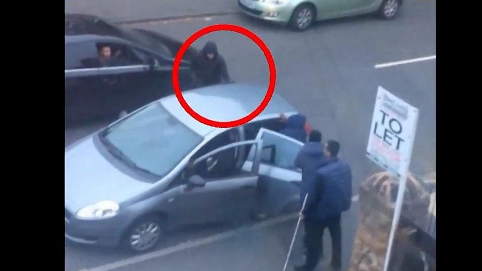 Aqib Mazhar stabbing: CCTV of knife attack released
