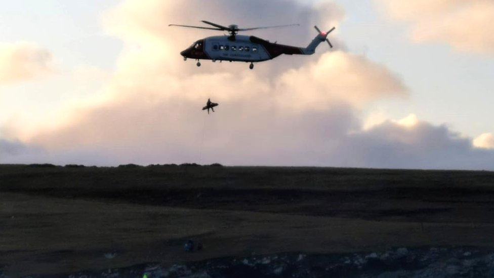 Shetland rescue