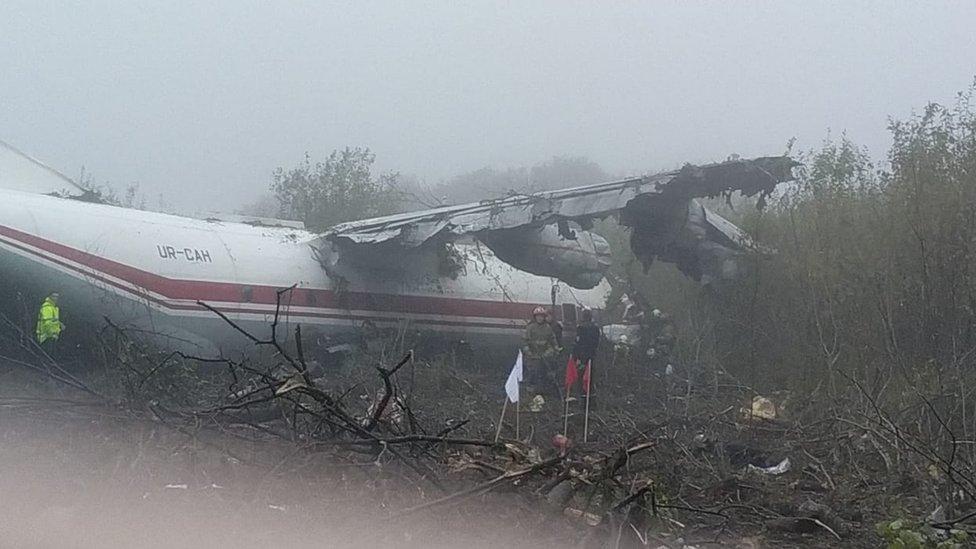 Катастрофа Ан-12 біля Львова: кількість загиблих зросла до п'яти
