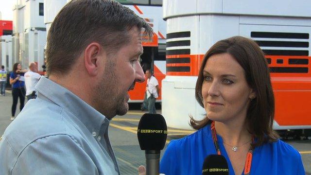 Pirelli Motorsport director Paul Hembery speaks to BBC Sport's Lee McKenzie