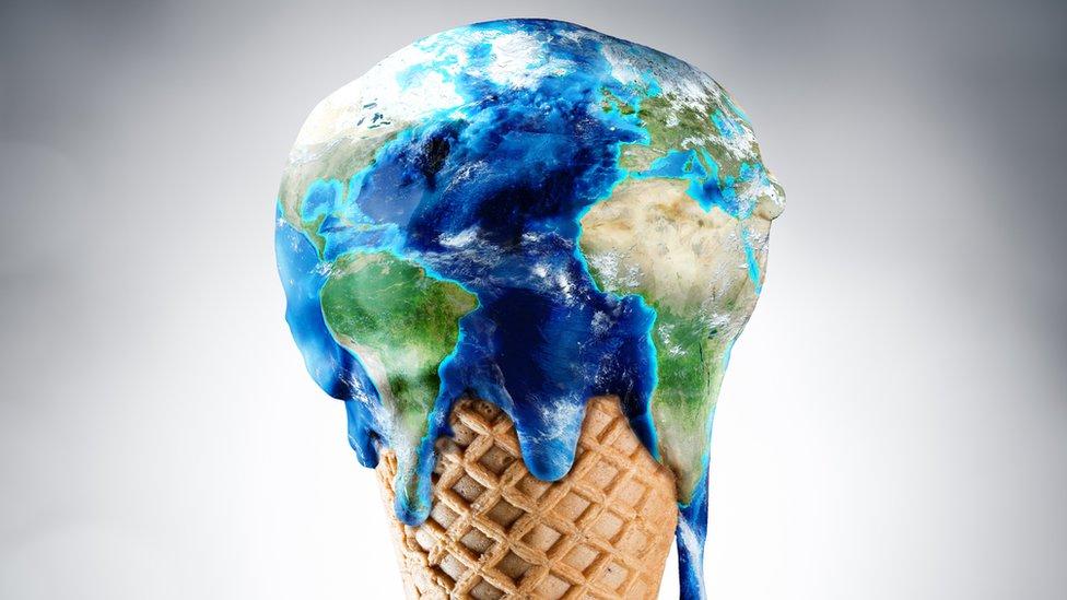 planeta y cambio climático