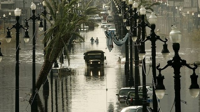 Flooding in New Orleans - file image