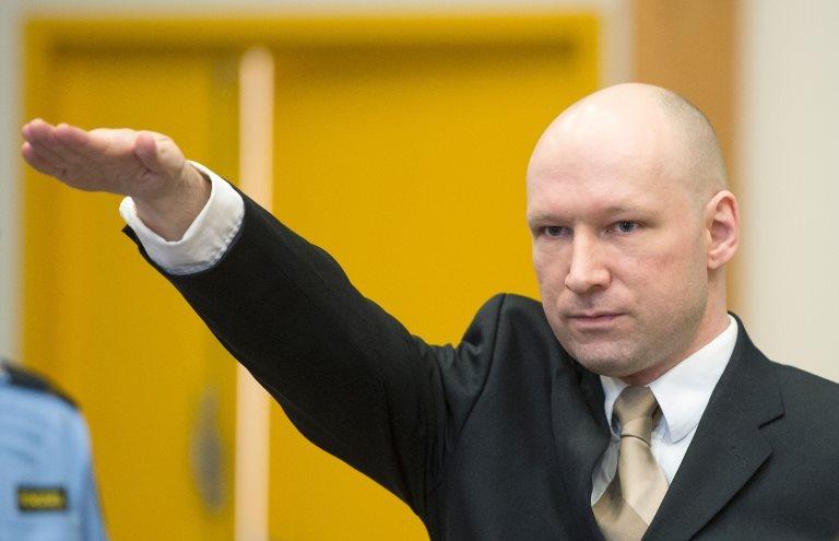 Breivik en su juicio