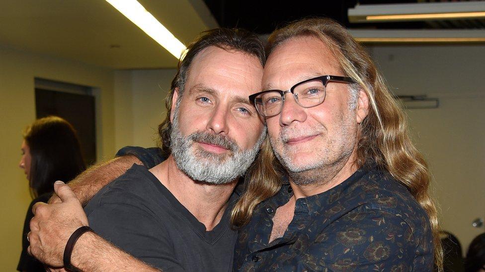Andrew Lincoln and Greg Nicotero