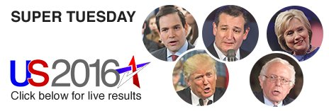 BBC Super Tuesday logo