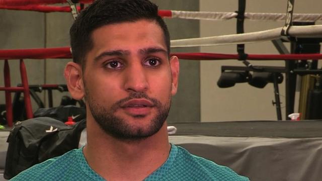 Britain's Amir Khan on Saul Alvarez fight