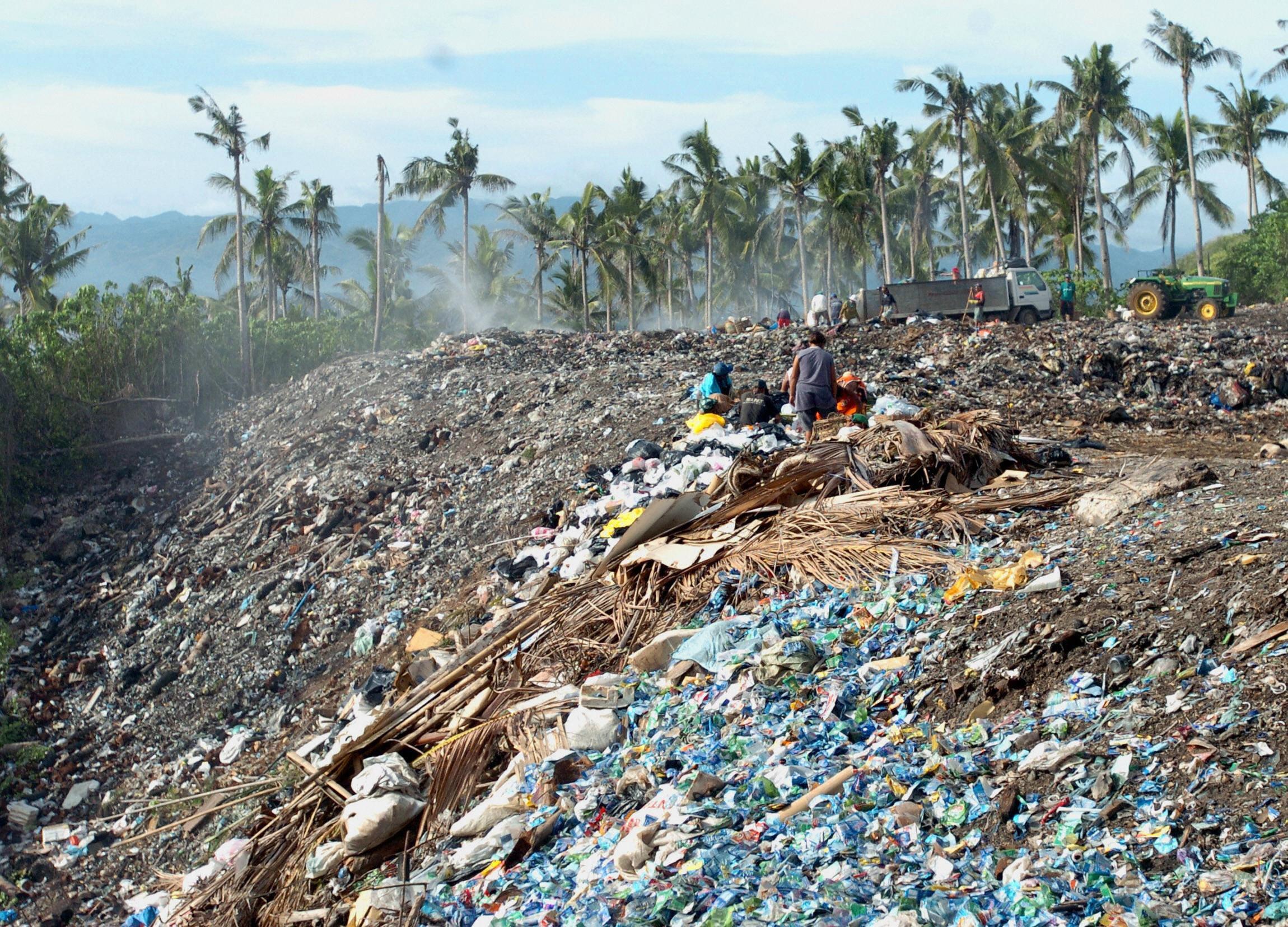 Basura en Boracay
