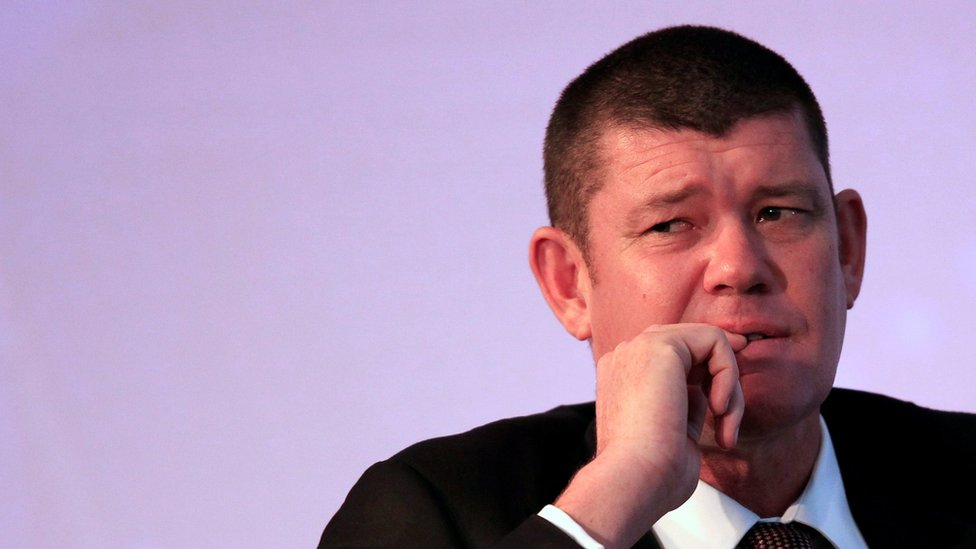James Packer at the Commonwealth Business Forum in 2013