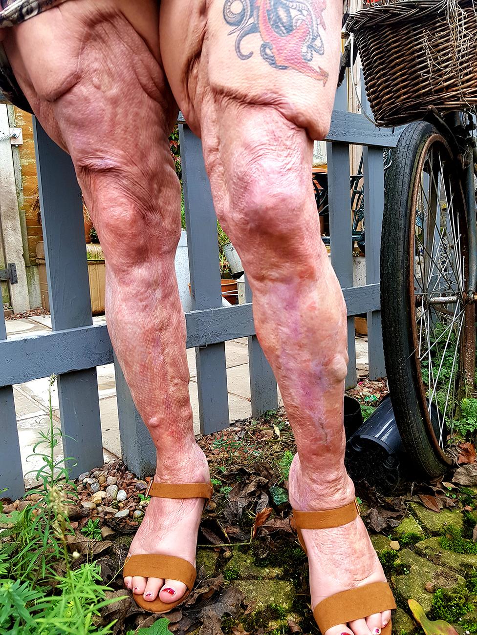 Las piernas de Jayne