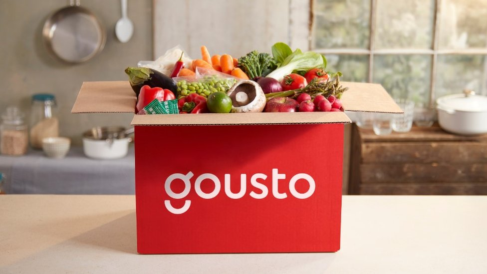 A Gousto box