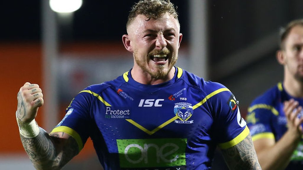 Warrington's Josh Charnley and Jack Hughes included in England performance squad